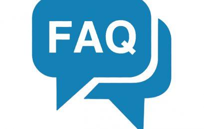 Обновление раздела «F.A.Q.»